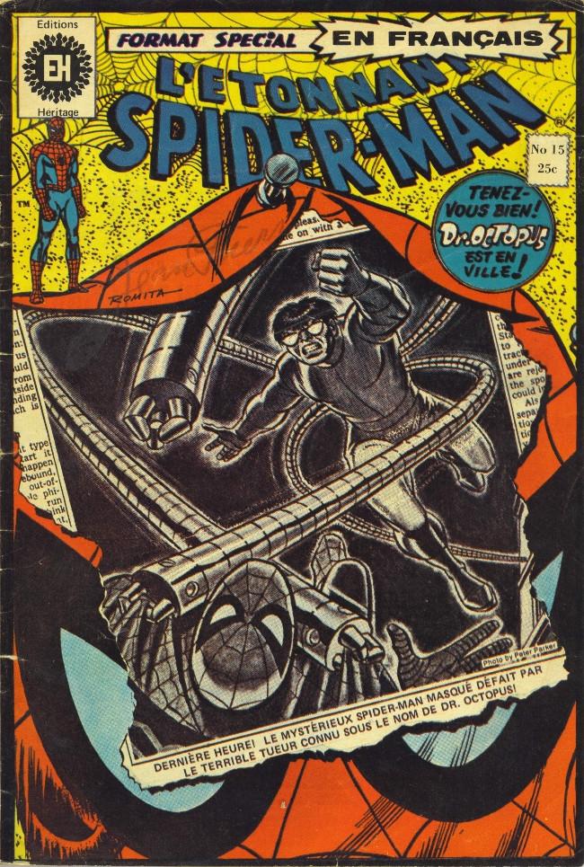 Couverture de L'Étonnant Spider-Man (Éditions Héritage) -15- On l'appelle Docteur Octopus!