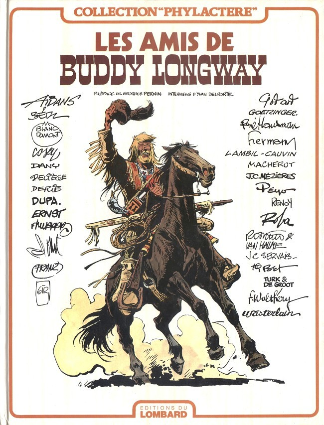 Couverture de Buddy Longway -HS- Les amis de Buddy Longway