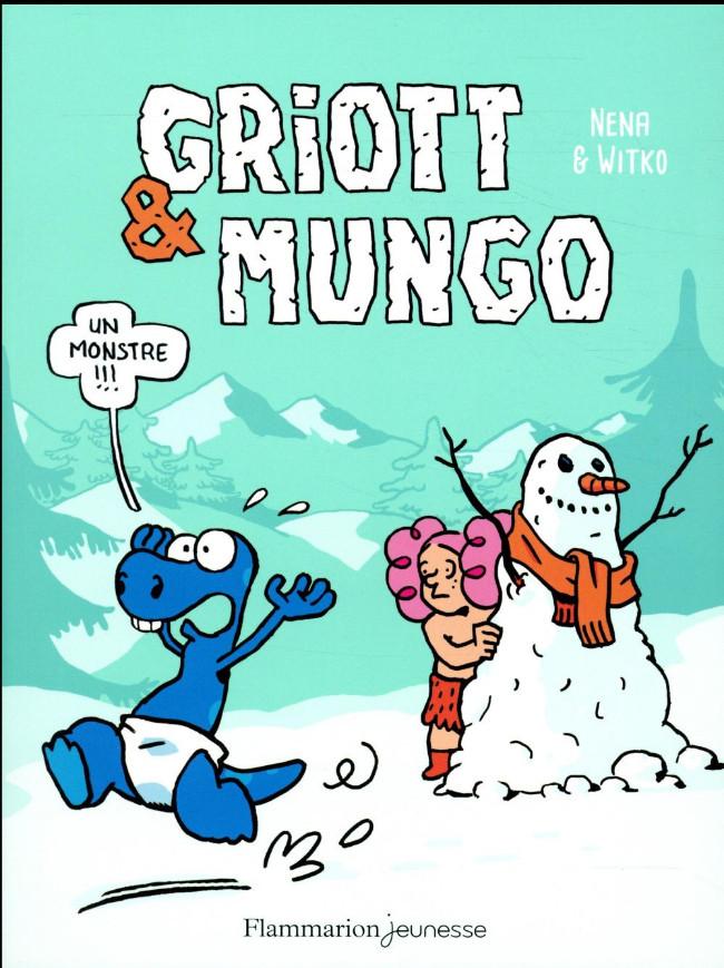Couverture de Griott & Mungo -3- Un monstre !