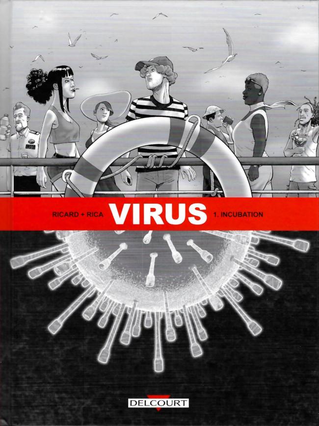 Couverture de Virus (Ricard/Rica) -1- Incubation