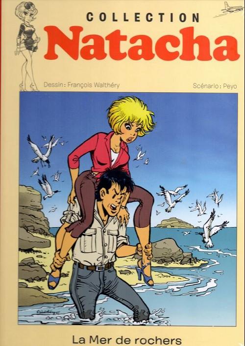 Couverture de Natacha - La Collection (Hachette) -19- La mer de rochers