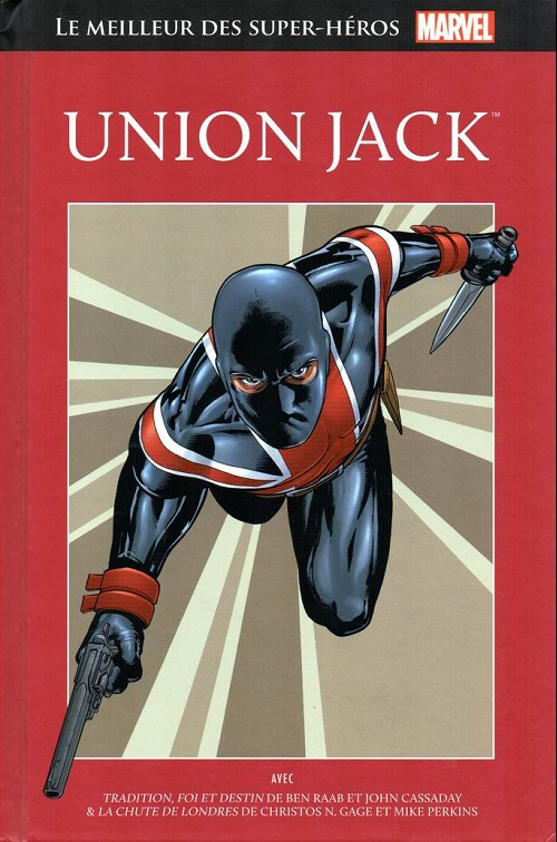 Couverture de Marvel Comics : Le meilleur des Super-Héros - La collection (Hachette) -73- Union jack