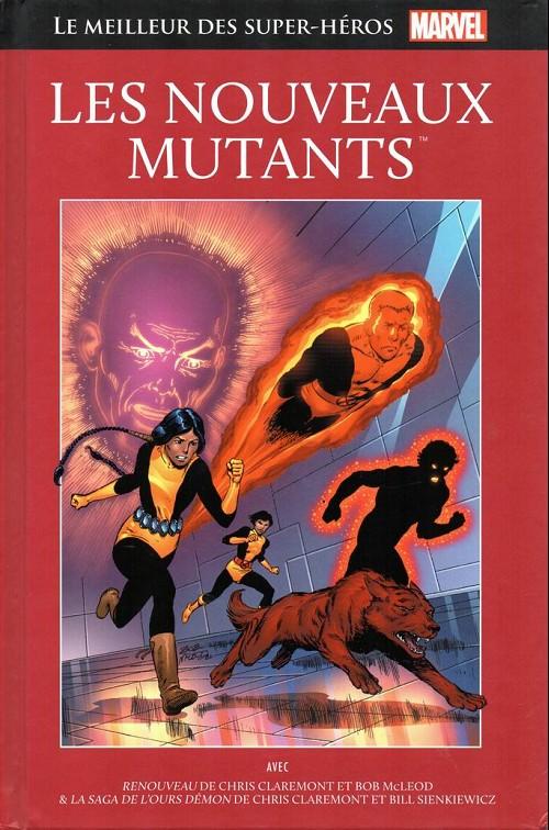 Couverture de Marvel Comics : Le meilleur des Super-Héros - La collection (Hachette) -72- Les nouveaux mutants
