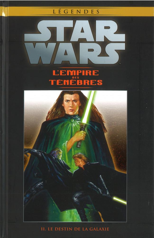 Couverture de Star Wars - Légendes - La Collection (Hachette) -7774- L'Empire des Ténèbres - II. Le Destin de la Galaxie