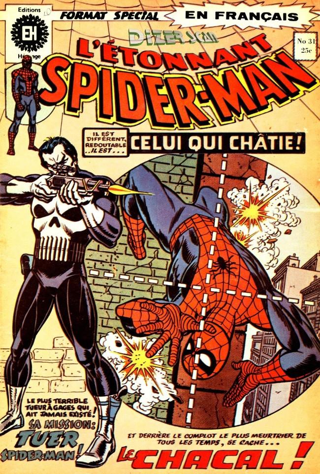 Couverture de L'Étonnant Spider-Man (Éditions Héritage) -31- Le Punisseur frappe deux fois!