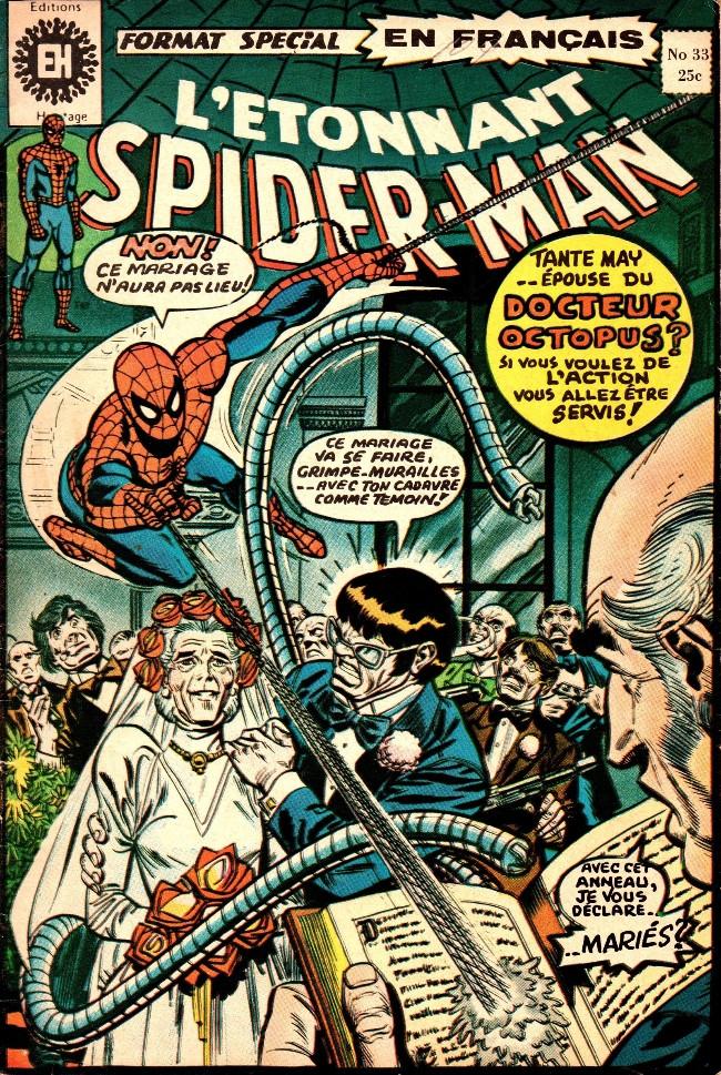 Couverture de L'Étonnant Spider-Man (Éditions Héritage) -33- Mon oncle... Mon ennemi?