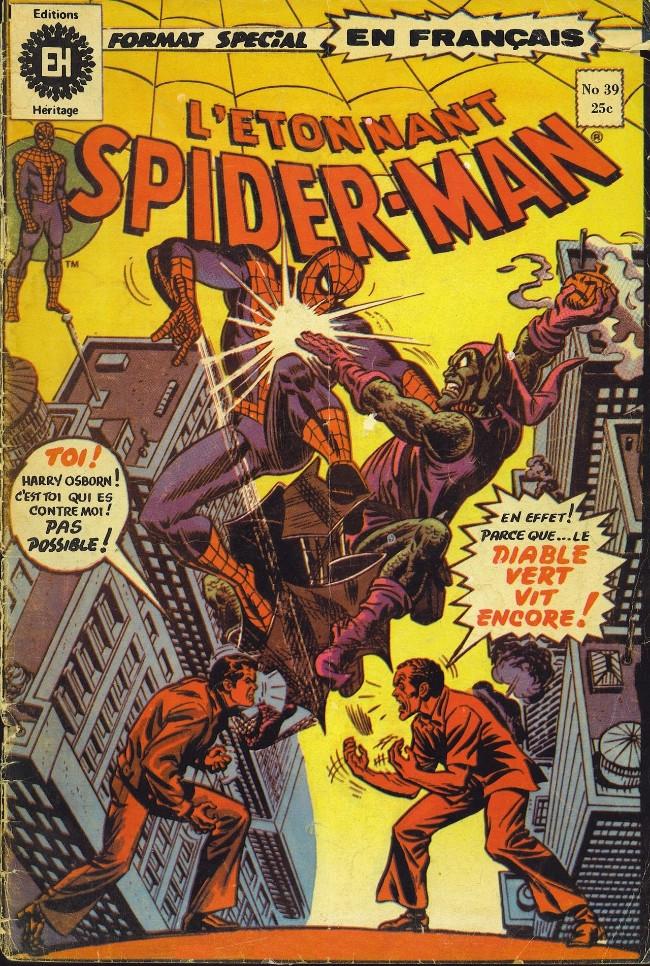Couverture de L'Étonnant Spider-Man (Éditions Héritage) -39- Green Goblin revit!