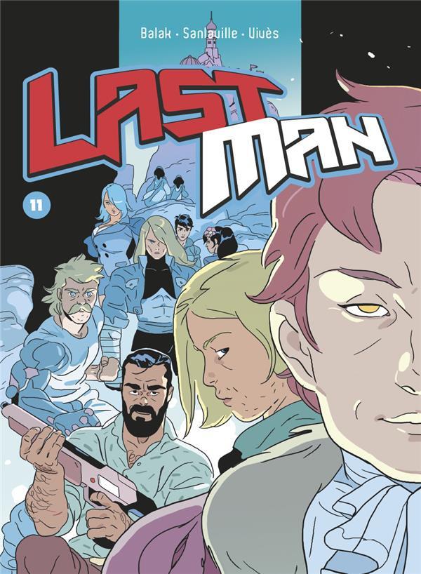 Couverture de LastMan -11- Tome 11