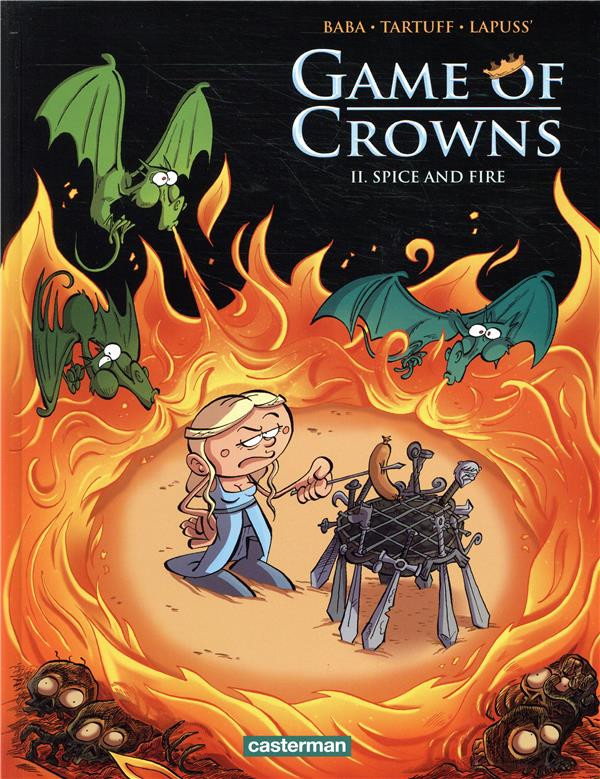 Couverture de Game of Crowns -2- Spice and fire