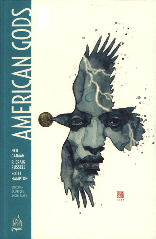 Couverture de American Gods -1- Volume 1