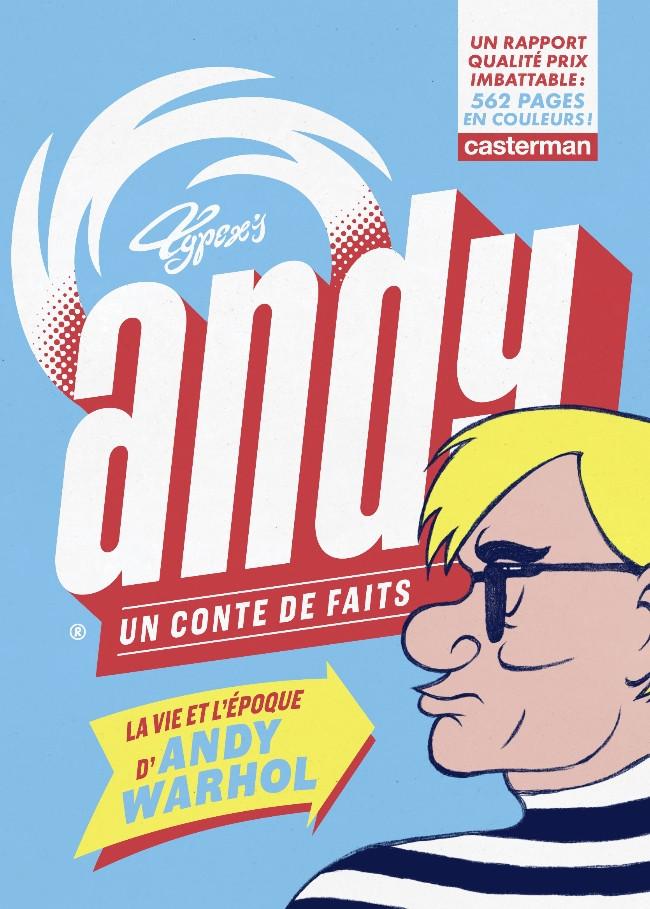 Couverture de Andy, un conte de faits