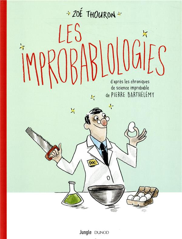Couverture de Les improbablologies