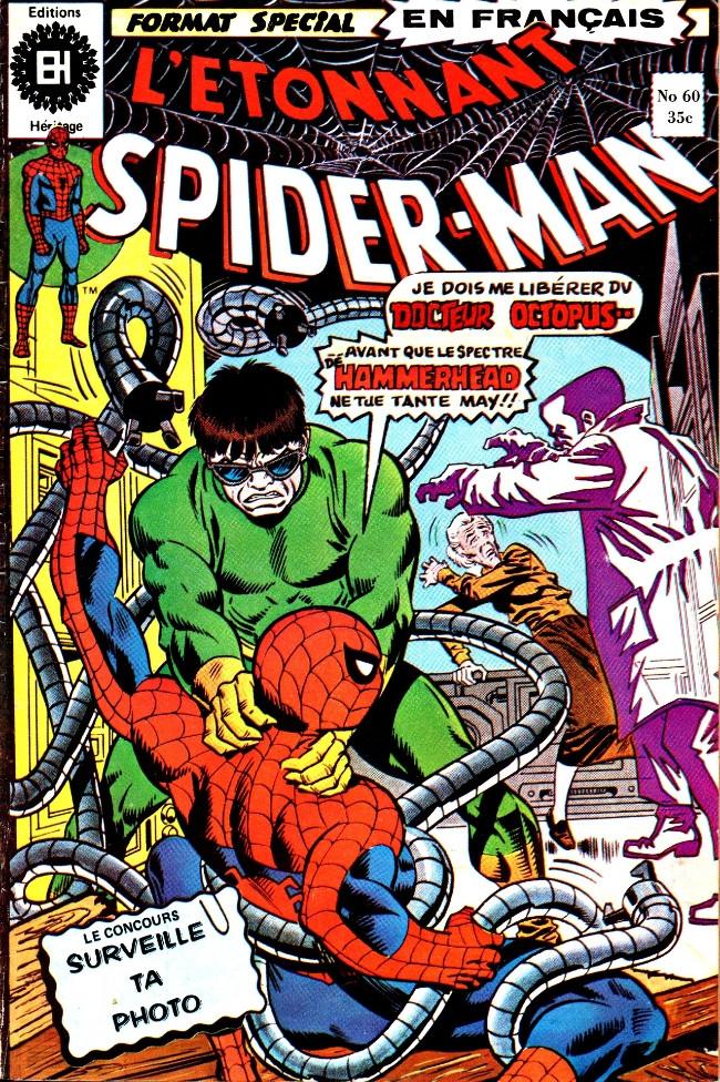 Couverture de L'Étonnant Spider-Man (Éditions Héritage) -60- Hammerhead