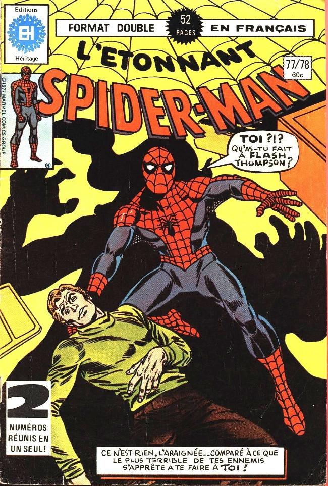 Couverture de L'Étonnant Spider-Man (Éditions Héritage) -7778- Qui rit le dernier..!