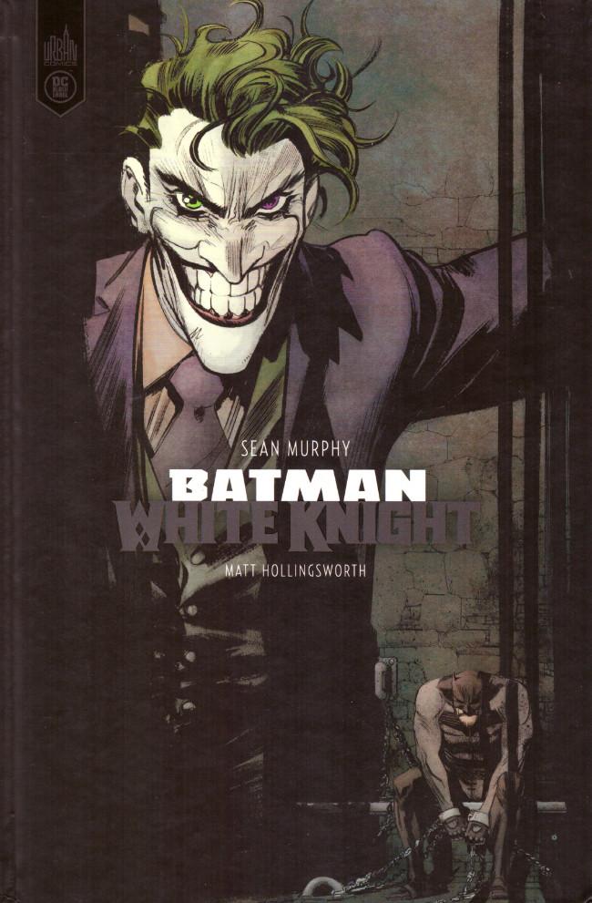 Couverture de Batman : White Knight