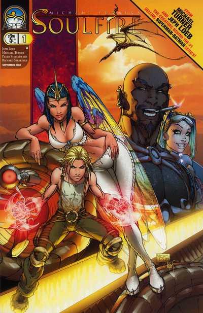 Couverture de Michael Turner's Soulfire (Aspen comics - 2004) -1- Pyre Part 1