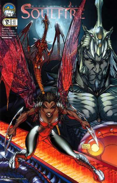 Couverture de Michael Turner's Soulfire (Aspen comics - 2004) -2- Pyre Part 2