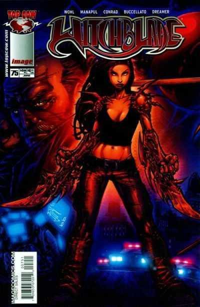 Couverture de Witchblade (1995) -75- Death Pool Finale
