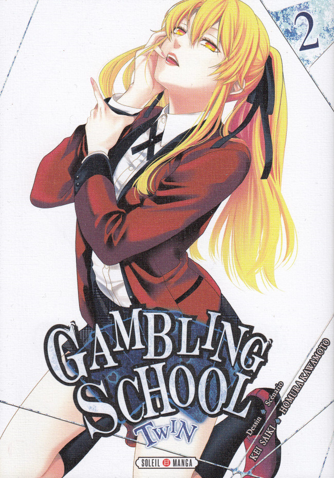 Couverture de Gambling School - Twin -2- Volume 2