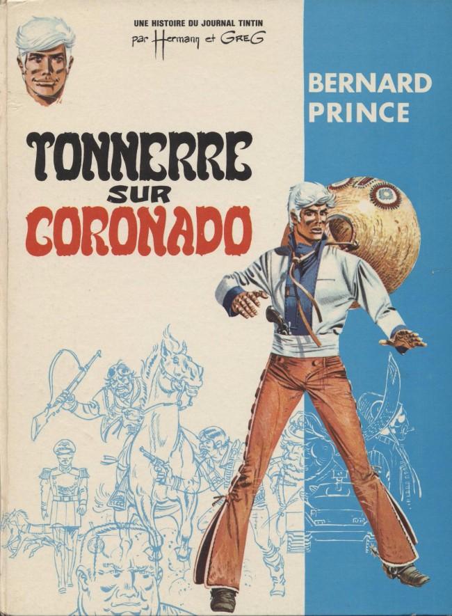 Couverture de Bernard Prince -2- Tonnerre sur Coronado