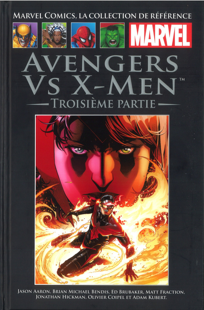 Couverture de Marvel Comics - La collection (Hachette) -12079- Avengers Vs X-Men - Troisème Partie