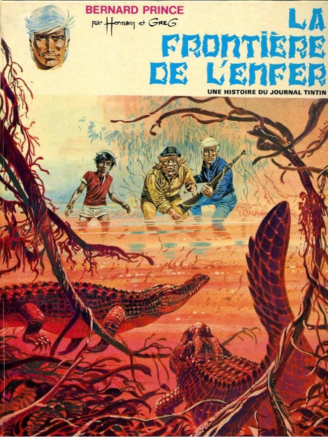Couverture de Bernard Prince -3- La frontière de l'enfer