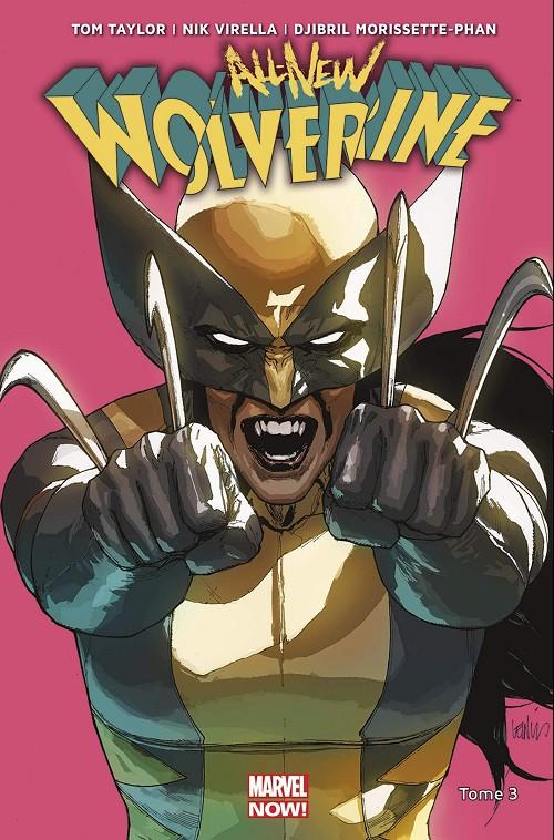 Couverture de All-New Wolverine -3- Ennemie d'état