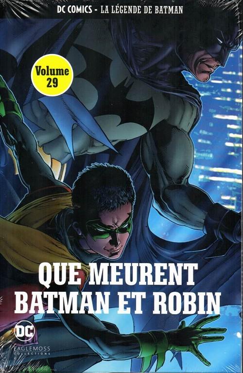 Couverture de DC Comics - La légende de Batman -2952- Que meurent batman et robin