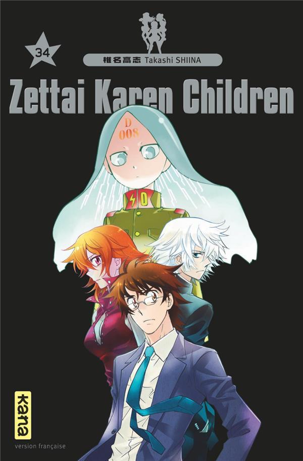 Couverture de Zettai Karen Children -34- Tome 34