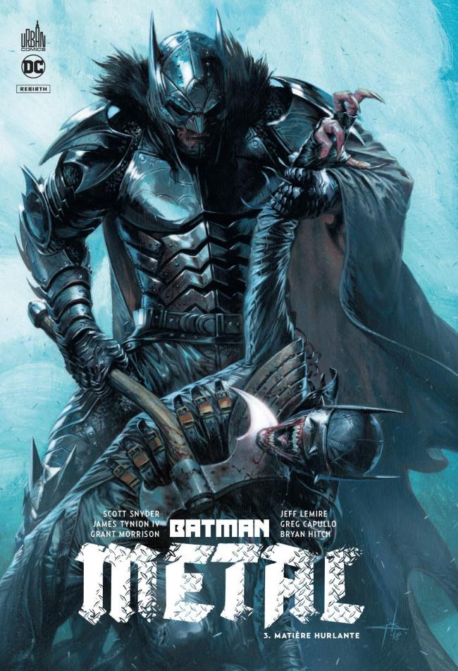 Couverture de Batman Metal -3- Matière hurlante