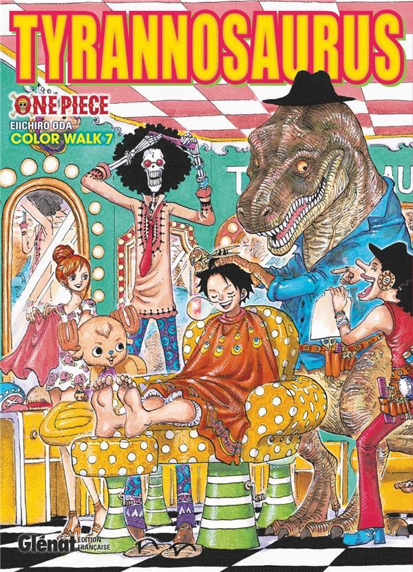 Couverture de One Piece -ART7- Tyrannosaurus - Color Walk 7