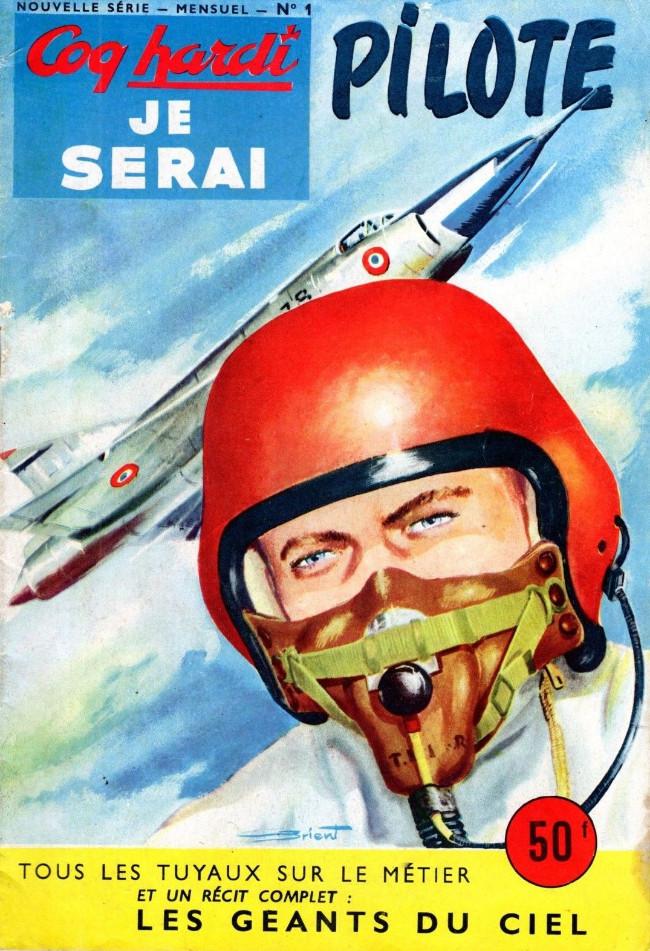 Couverture de Coq hardi je serai (2e Série - Nouvelle Série) -1- Je serai pilote