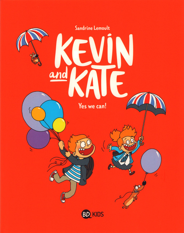Couverture de Kevin and Kate -3- Yes we can !