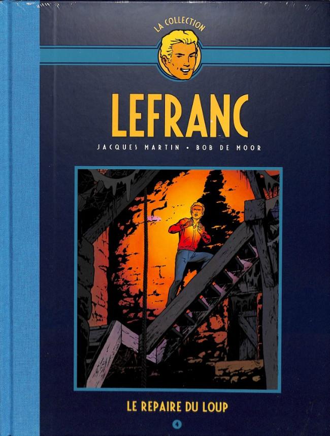 Couverture de Lefranc - La Collection (Hachette) -4- Le Repaire du Loup