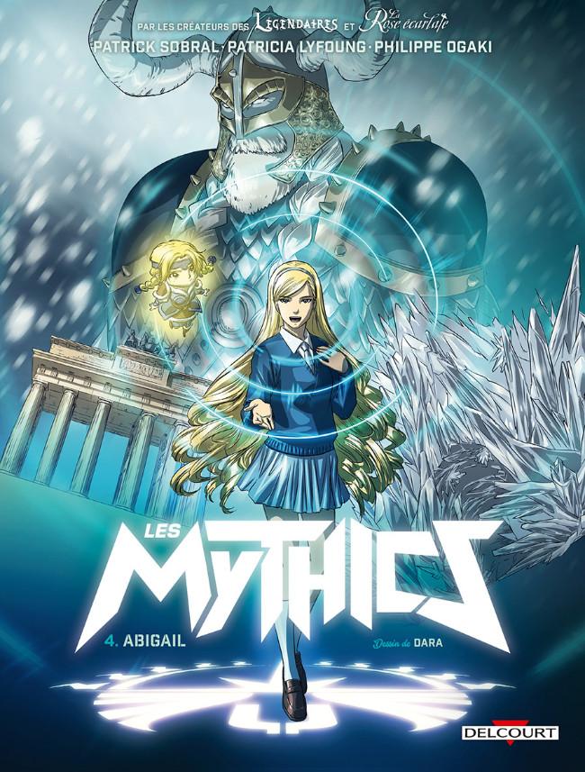 Couverture de Les mythics -4- Abigail