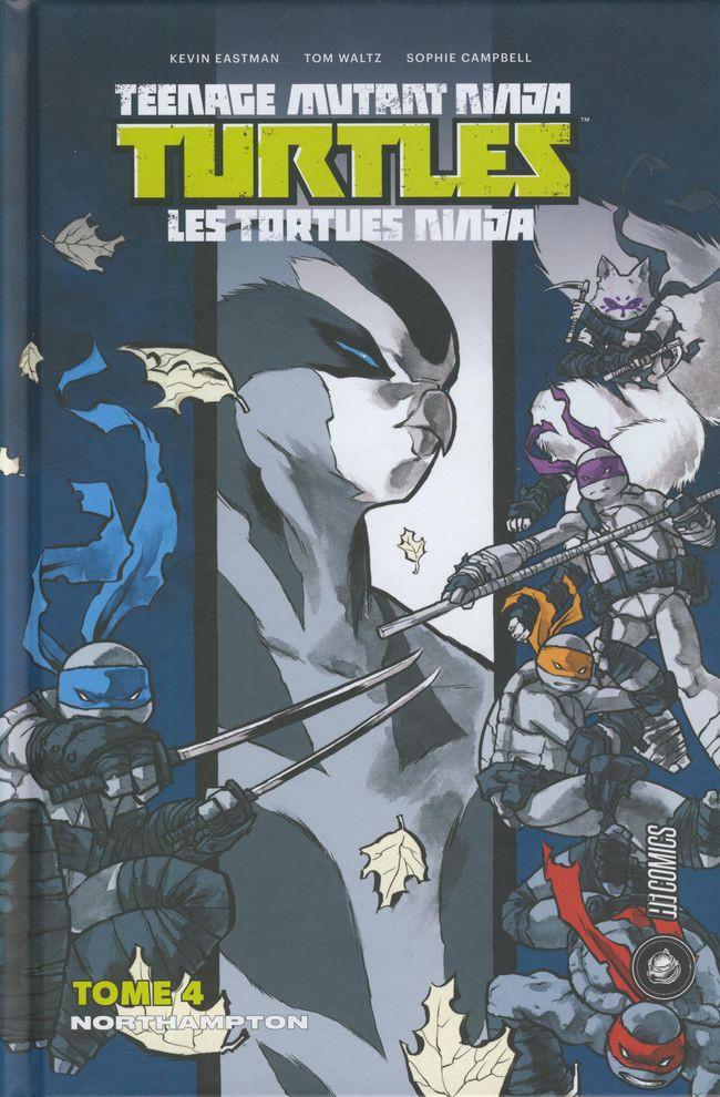Couverture de Teenage Mutant Ninja Turtles - Les Tortues Ninja (HiComics) -4- Northampton