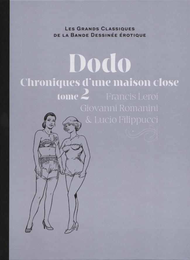 Couverture de Les grands Classiques de la Bande Dessinée érotique - La Collection -6771- Dodo Chroniques d'une maison close - tome 2