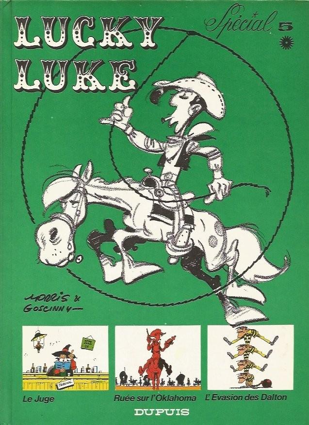 Couverture de Lucky Luke (Intégrale Dupuis/Dargaud) -5a- Spécial 5 *