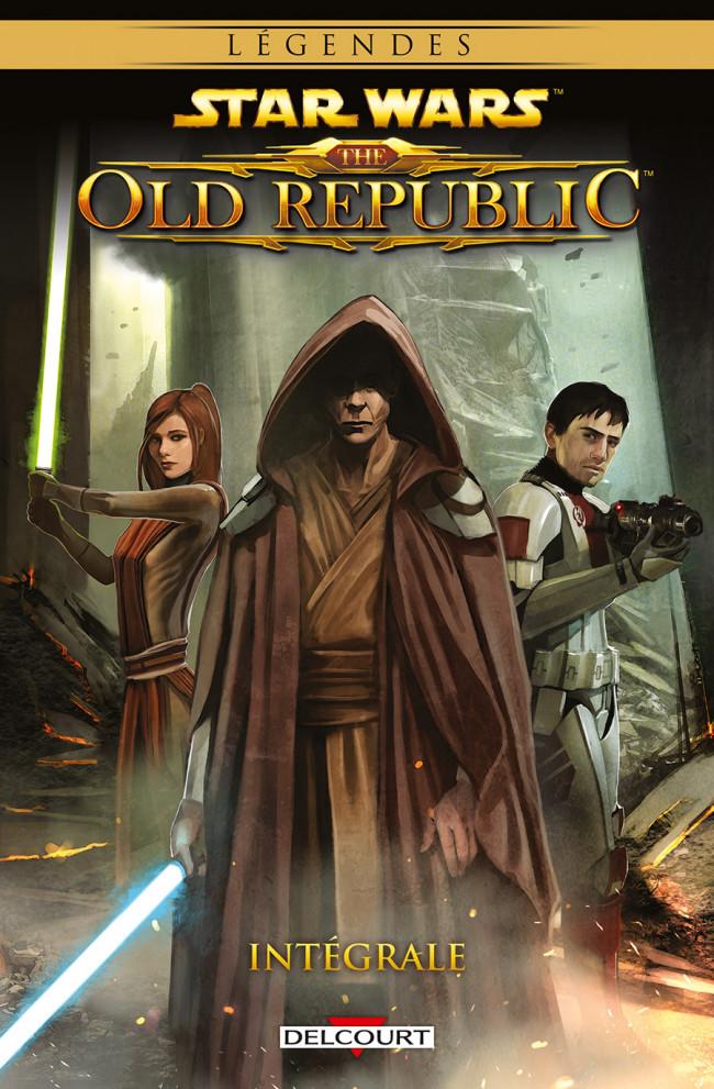 Couverture de Star Wars - The Old Republic (Delcourt) -INT- Intégrale