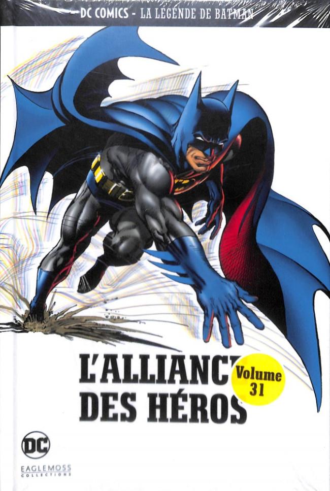 Couverture de DC Comics - La légende de Batman -31- L'Alliance des Héros