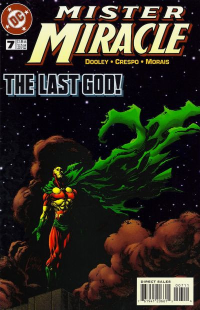 Couverture de Mister Miracle (1996) -7- Freedom Is Blind