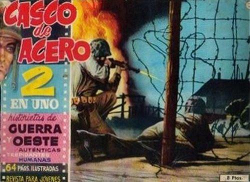 Couverture de Casco de acero -2- (sans titre)