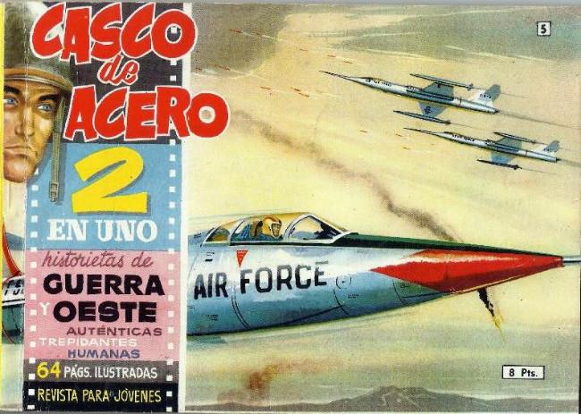 Couverture de Casco de acero -5- (sans titre)