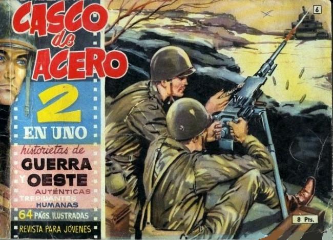 Couverture de Casco de acero -6- (sans titre)