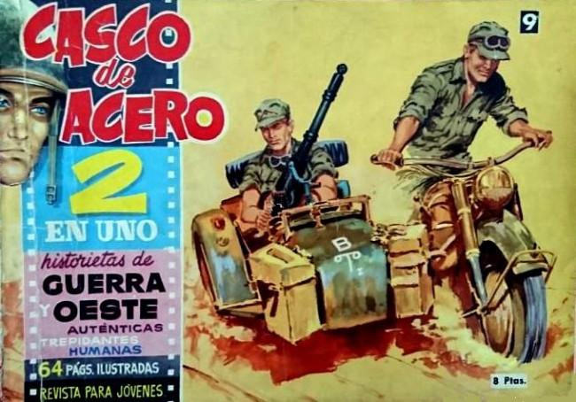 Couverture de Casco de acero -9- (sans titre)