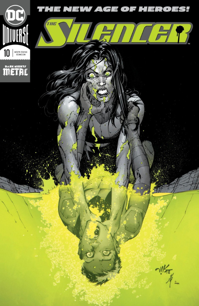 Couverture de Silencer (The) (2018) -10- Hell-IDay Road - Part Three