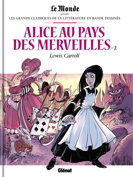 Couverture de Les grands Classiques de la littérature en bande dessinée -48- Alice au Pays des Merveilles - 2