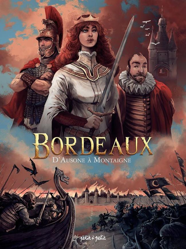 Couverture de Bordeaux -1- D'Ausone à Montaigne