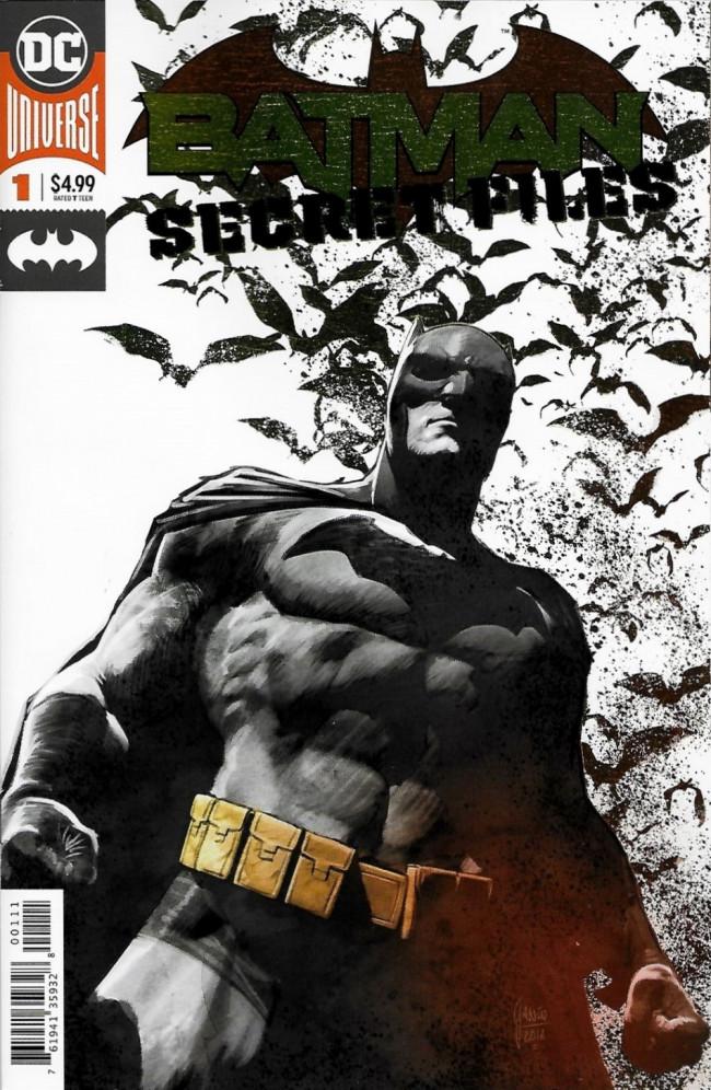 Couverture de Batman: Secret Files (2018) - Batman: Secret Files