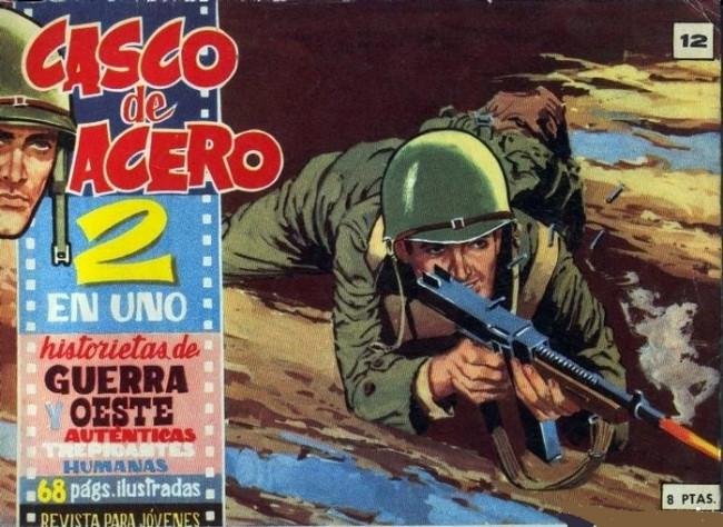 Couverture de Casco de acero -12- (sans titre)